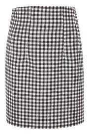 Gingham Vs Plaid Vs Tartan Gingham Mini Skirt Topshop