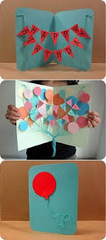 pop out birthday cards diy birthday card ideas