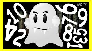 learning numbers 1 10 with ghosts u2013 halloween educational video
