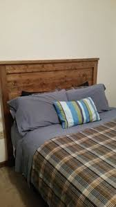 rough sawn white pine headboard by dixonanddad on etsy dixon and