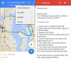 Googple Maps How To Share Directions In Google Maps For Android Android Central