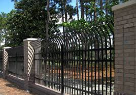 commercial ornamental aluminum steel fence knoxville tn