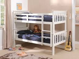 Buy Metal  Wooden Bunk Beds At Mattressman - White bunk beds uk