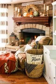 Fall Decor For The Home 25 Best Fall Fireplace Decor Ideas On Pinterest Autumn