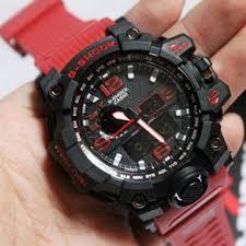 Jam Tangan G Shock jual jam tangan pria casio g shock gwg1000 tali merah dunia g