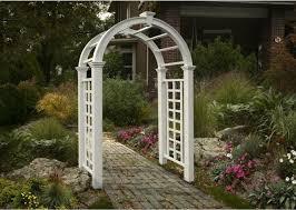 rent wedding arch arch white nantucket 60 inch x94 inch h rentals ft wayne in