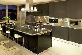kitchen island stainless kitchens black kitchen with black cabinet also kitchen island with