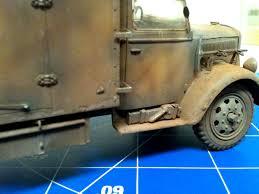 opel blitz interior italeri 1 35 opel blitz radio truck armourpro