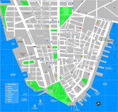 downtown manhattan map downtown manhattan tourist map manhattan york mappery