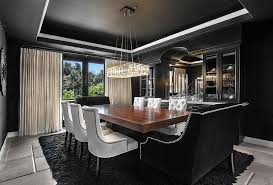 How To Use Black To Create A Stunning Refined Dining Room - Gorgeous dining rooms