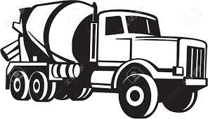 monster trucks clipart mixer truck clip art 40