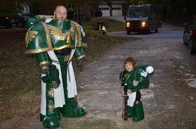 Coolest Halloween Costumes Halloween Costume Space Marine Cosplay Spikey Bits