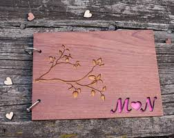 Personalized Wedding Albums Book Wooden Wedding Album Etsy