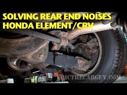 rear differential honda crv finding and repairing rear end noise honda element crv