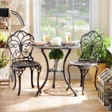 cast iron patio furniture sets foter