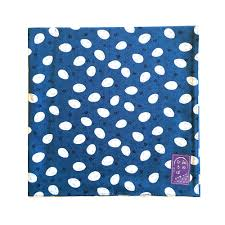 japanese wrapping furoshiki japanese traditional wrapping cloth blue hamucho made