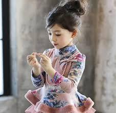 wholesale korean winter long sleeve t shirt floral print