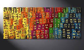 wandbilder wohnzimmer das wohnzimmer bild afterglowing city in 120x50cm wandbilder