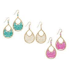 teardrop earrings dazzling beaded teardrop earrings avon