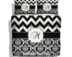 Black And White Chevron Bedding Cool Bedding Master Bedding Comforter Set Or Duvet Set