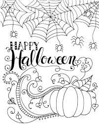 coloring excellent halloween drawlings drawings kids