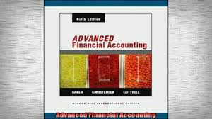 free download advanced financial accounting book online video