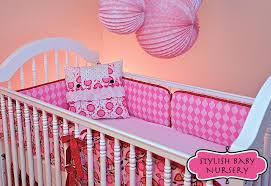 stylish baby nursery crib bumpers in two cool fabs sew4home