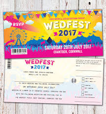 wedding invitations lewis wedfest festival ticket wedding invitation http www wedfest co