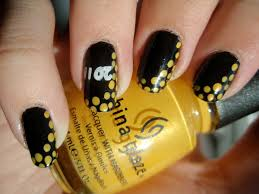 16 beautiful black and yellow nail designs all new hairstyles