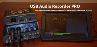 record audio android now you can record to your android device via usb audio interface