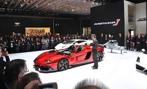 Lamborghini Aventador J Speedster - lamborghini aventador jota u2013 news u2013 car and driver