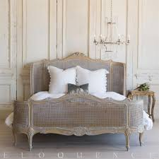 French Country Style French Country Style Vintage Bed 1940 Kathy Kuo Home