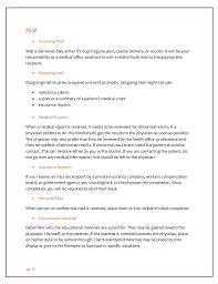 sample office manual template job description policy template 60