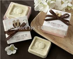 wedding favors wholesale wholesale owl always you scented soap wedding favors
