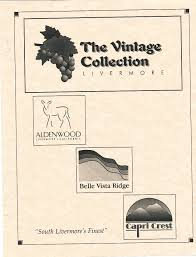 the vintage collection floor plans livermore homes ca