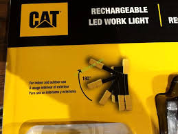 cat rechargeable led work light costco costco 962841 cat led worklight rechargeable part costcochaser