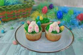 Wilton Easter Icing Decorations by Easter Bunny Cupcakes