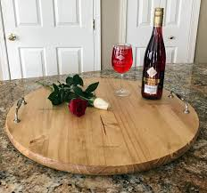 monogrammed serving platters lazy susan monogrammed personalized serving tray lola s design