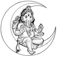 simple ganesha drawing for kids gallery clip art library