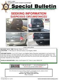 Seeking Los Angeles Los Angeles County Sheriff S Department Portal