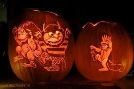 fabulous wild pumpkin carvings
