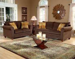 living room decor ideas brown sofa brown sofa and griege walls