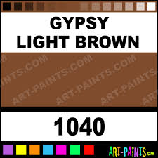 Light Brown Paint by Gypsy Light Brown Cake Makeup Body Face Paints 1040 Gypsy