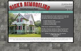 custom web sites for contractors construction landscapers