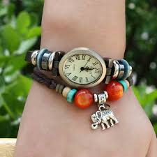 bracelet watches online images Leather bracelet watches online sale jpg