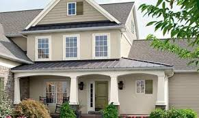 american classics exterior paint shown in woodrow wilson putty