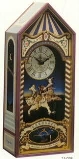 murai musical clocks animated clowns on horses animated