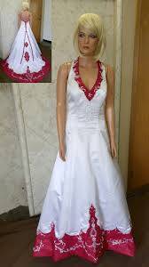 s white wedding dress colorful bridal gowns color accents bridal gown