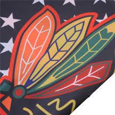 Custom Team Flags Chicago Blackhawks Modified Us Banner Flag Custom Chicago