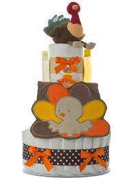 My 1st Thanksgiving Lil U0027 Baby Cakes Thanksgiving Turkey Diaper Cake